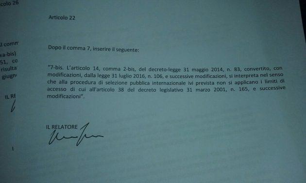 """Musei, nella manovrina spunta il """"salva direttori"""": un emendamento ad hoc che reinterpreta la legge di 16 anni fa"""