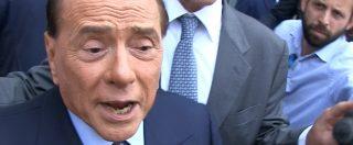 """Elezioni, Berlusconi: """"Ci sarà il centrodestra. Con Salvini? Certo, con chi altri?"""""""
