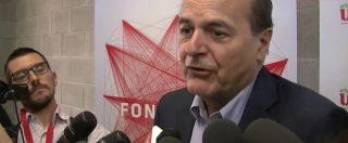"""Bersani disposto a coalizzarsi col Pd: """"Voglio il centrosinistra"""". Ecco le condizioni"""