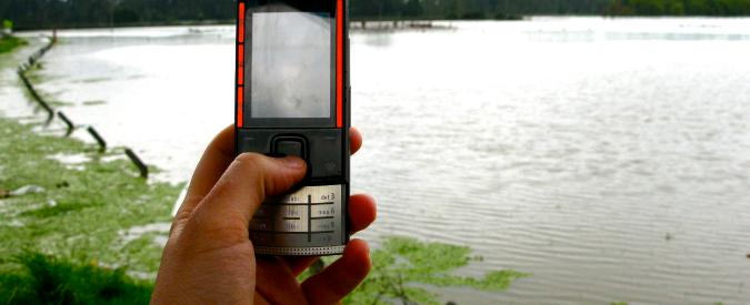 Riscaldamento globale, come studiare alluvioni e siccità con i cellulari