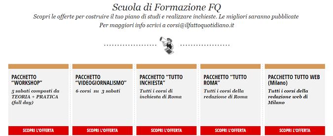Corsi del Fatto Quotidiano, da Roma a Milano ecco gli appuntamenti di sabato