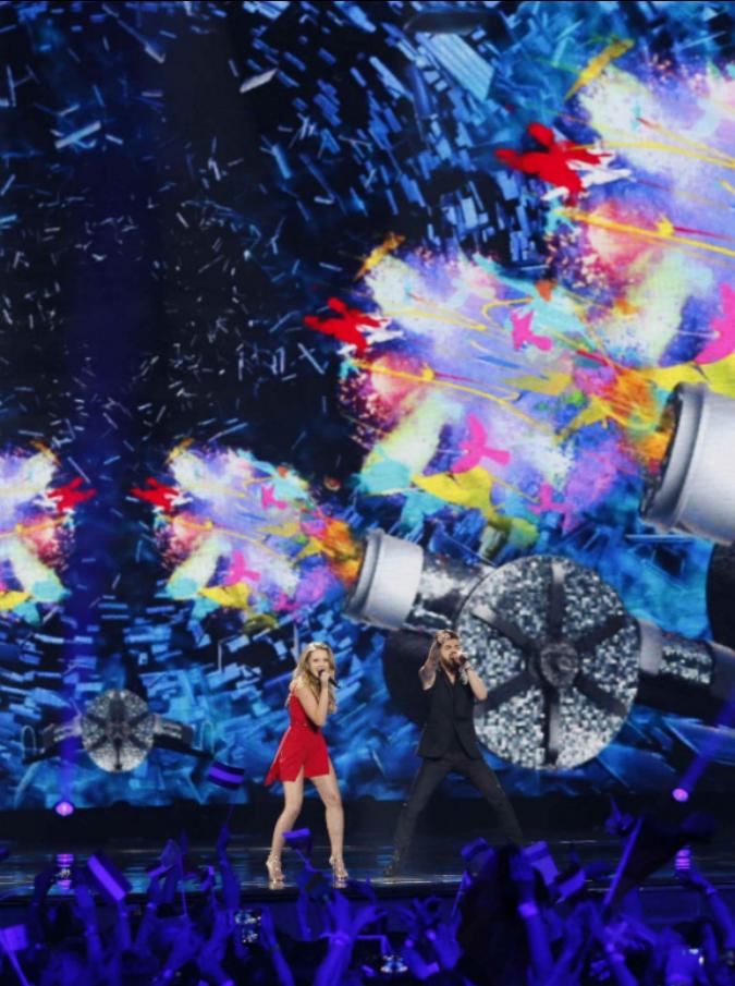 Eurovision Song Contest 2017, fa irruzione sul palco e mostra il lato B. Ora rischia fino a cinque anni di carcere