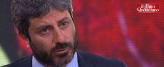 """Regionali Lazio, """"meno migranti, più turisti"""" della Lombardi? Fico: """"Non condivido"""", Di Battista: """"Solo slogan"""""""
