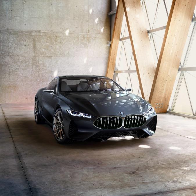 Bmw Serie 8 Concept, da Villa d'Este al futuro – FOTO