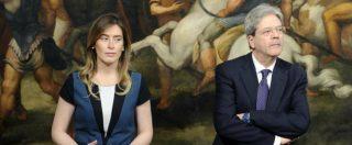 """Banca Etruria, Gentiloni: """"Mi pare che Boschi abbia ampiamente chiarito. Non ci saranno implicazioni per il governo"""""""