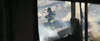 """Incendio Pomezia, imprenditori locali preoccupati: """"Venerdì i risultati delle analisi"""""""