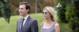 """Russiagate, la stampa: """"Fbi indaga su Kushner"""", marito di Ivanka. Trump disse ai russi: """"Comey era un pazzo"""""""