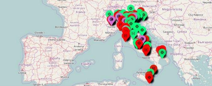 """""""Obiezione respinta"""", mappa delle donne sugli ospedali dove non si può abortire e le farmacie che non vendono pillola"""