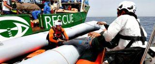 """Ong tedesche: """"Ue abbandona migranti"""". Sea Watch: """"Frontex e Sophia hanno cercato incidente in mare per screditarci"""""""