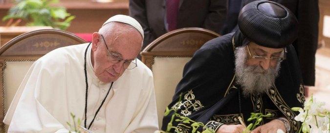 Papa Francesco in Egitto, il massimo sforzo che un credente può compiere