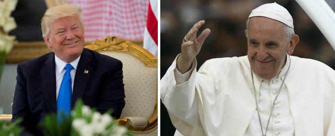 Francesco e Trump in Vaticano. E per il Papa, Washington è un vero problema