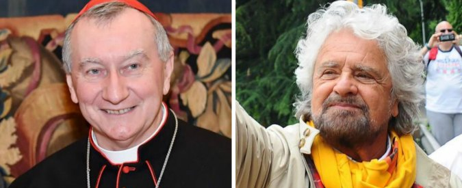 """Marcia M5s per il reddito di cittadinanza, Parolin su Grillo: """"Non ci si può autodefinire 'veri francescani'"""""""