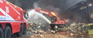 Incendio Pomezia, i cittadini avevano denunciato il rischio di roghi alla Eco X a novembre 2016