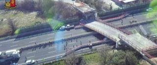 """Crollo ponte A14, """"Anomalie nell'appalto. Gravi responsabilità di Autostrade: non verificò l'idoneità della ditta"""""""