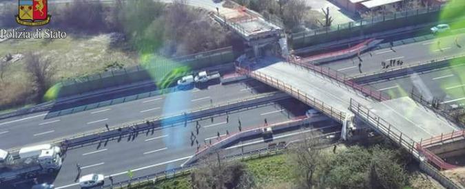 Ponte crollato sull'A14, indagati in 41. Anche sei dirigenti di Autostrade per l'Italia e manager di Pavimental