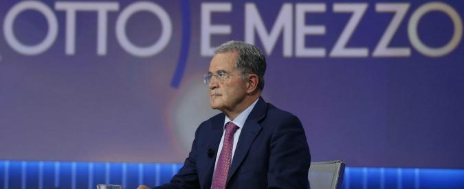 """Romano Prodi: """"M5s non pronto a governare. Se vince le elezioni sarebbe un pericolo"""""""
