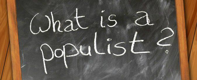 Populisti o semplicemente politici di destra il fatto for Politici di destra nomi