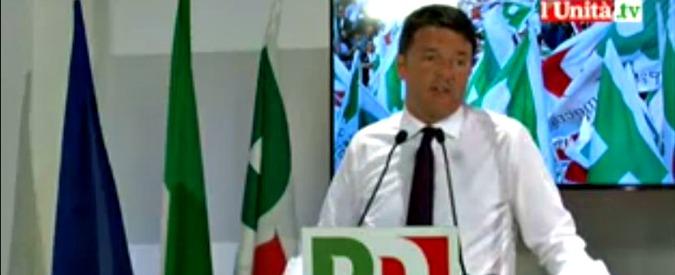 """Renzi: """"Legge elettorale entro il 7 luglio. Non è l'ideale, ma ci sto"""". Orlando: """"Come spieghiamo l'alleanza con Berlusconi?"""""""