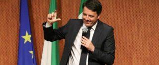 """Consip, Renzi: """"Capire se un pezzo di istituzioni ha fabbricato prove false contro altri rappresentanti di istituzioni"""""""