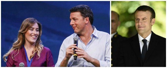 Banca Etruria, lo scontro Boschi-de Bortoli nasconde mica un'operazione Macron?