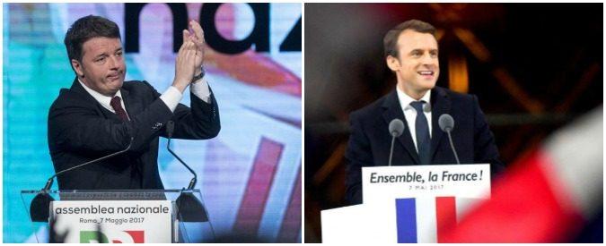 Renzi, Macron e i cattolici ormai al capolinea