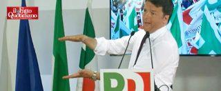 """Legge elettorale, Renzi: """"Chi dice che Pd è per instabilità ha mangiato male. Inciucio con Berlusconi? Banale semplificazione"""""""
