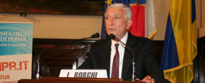 """Parma, il rettore dell'Università Borghi si è dimesso. Nell'intercettazione disse: """"Ho modificato regolamento"""""""