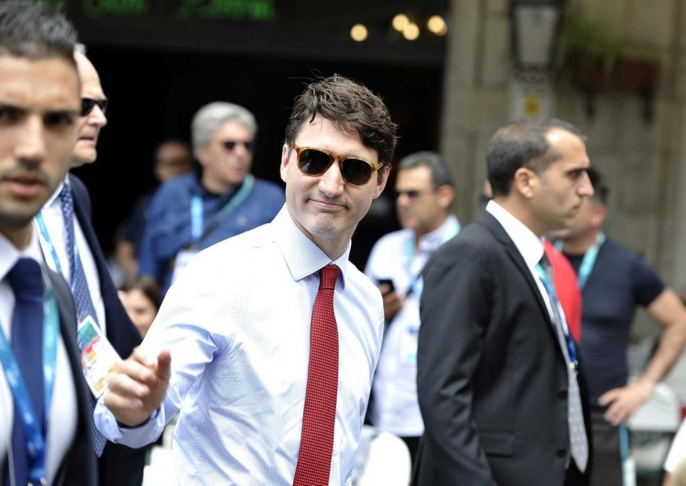 Justin Trudeau al G7