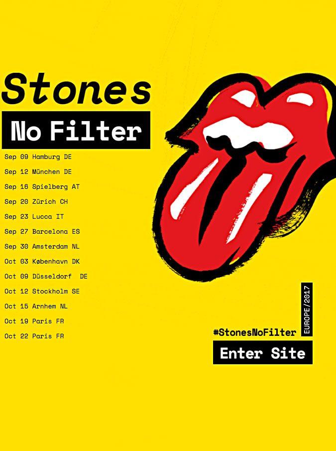 Rolling Stones in concerto a Lucca. Il 23 settembre l'unica data italiana del tour