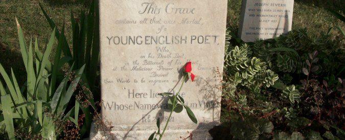 Cimitero degli inglesi a Roma, dove i nomi sono 'scritti sull'acqua'
