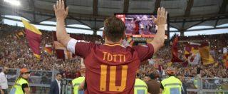 Ten Talking Points – Buona vita Totti: un campione, quando smette, porta via tutti gli anni che gli altri hanno vissuto con lui