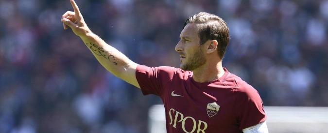 Francesco Totti è Roma: il campione a chilometro zero. Elogio dell'uomo qualunque con i piedi divini