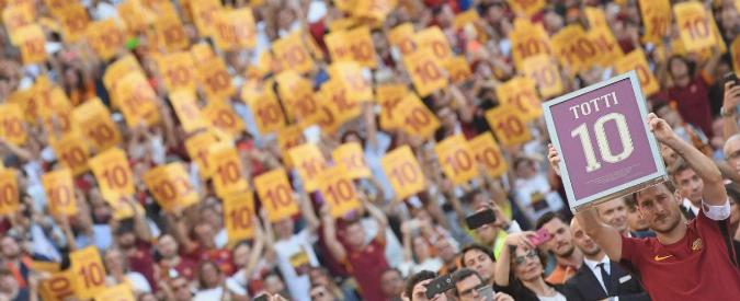 L'addio di Totti alla Roma, quando la rinuncia diventa fedeltà