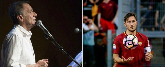 Francesco Totti e Roberto Vecchioni? Due artisti, del gol perfetto e della canzone-poesia
