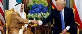"""Trump in Arabia Saudita: """"Musulmani siano leader nella lotta alla radicalizzazione"""""""