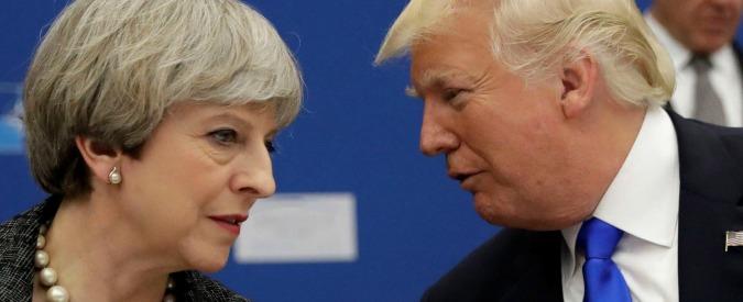 """Donald Trump, Theresa May insiste: """"Ha sbagliato condividere Britain First"""". Lui: """"Si occupi del terrorismo islamico"""""""