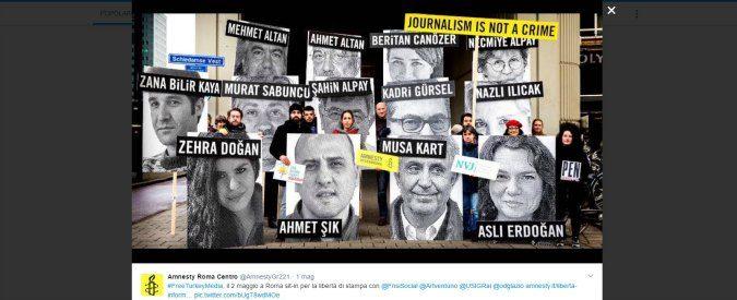 Giornata mondiale della libertà di stampa: Ankara piange, ma il resto del mondo non ride