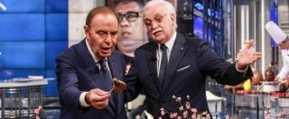 Se Bruno Vespa è un artista, Porta a Porta è solo cabaret?