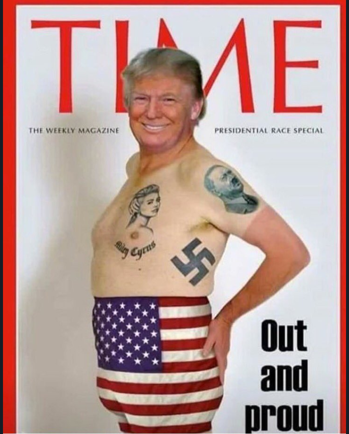 Le parodie della finta copertina del Time