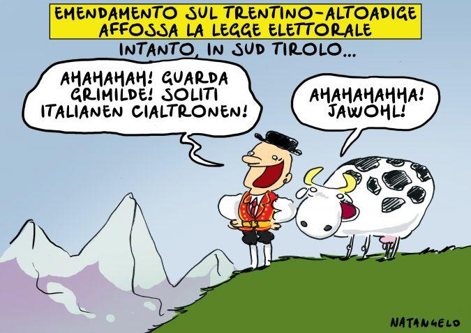 Il Trentino se ne frega
