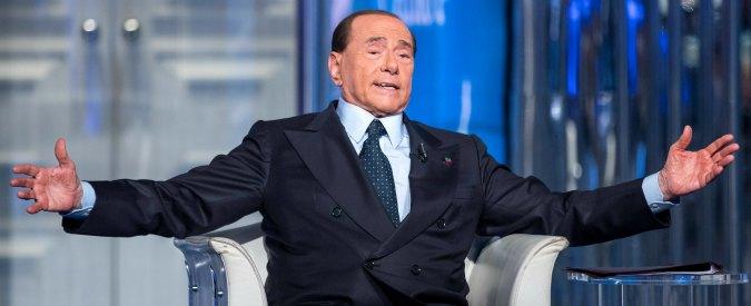 """Pensioni, Berlusconi: """"Minime a 1000 euro al mese. E serve un reddito di dignità per chi vive in povertà"""""""