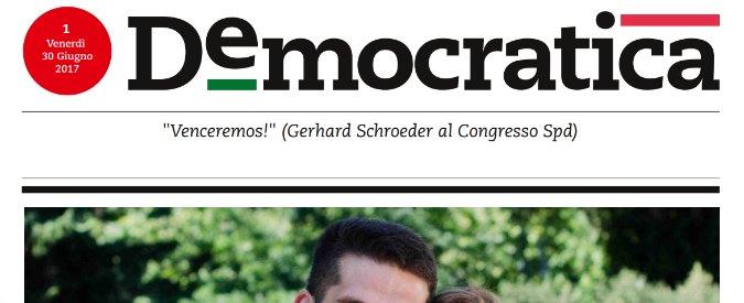 """Pd lancia """"Democratica"""", il quotidiano di Matteo Renzi. Abbandonata """"L'Unità"""". Staino: """"Hanno fatto tutto di nascosto"""""""