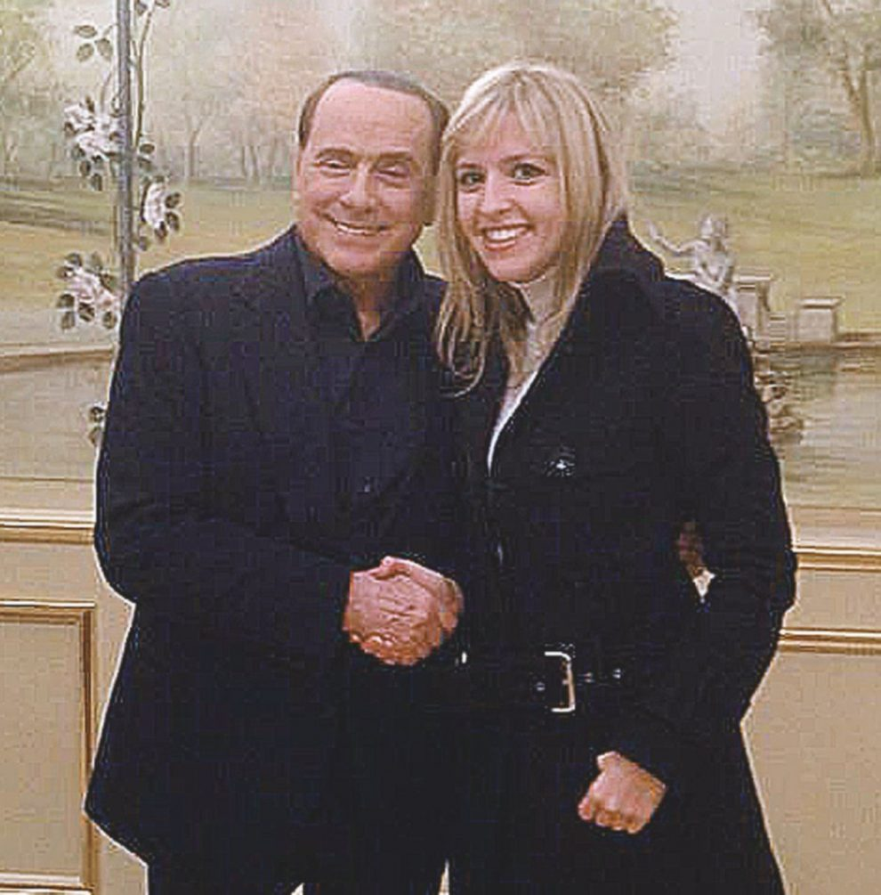 Vicini a B. – Silvia Sardone con Silvio Berlusconi
