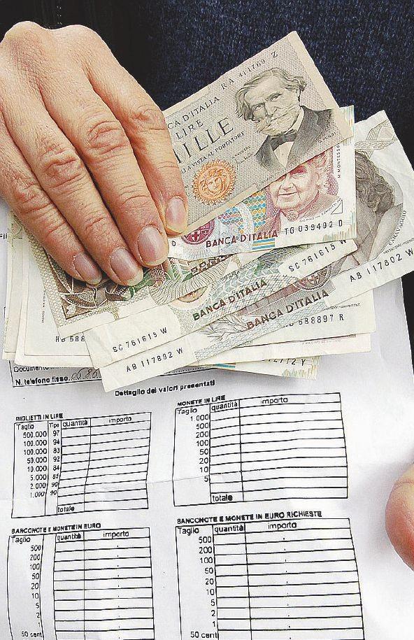 Il riciclatore delle vecchie lire e il miliardo che diventa euro