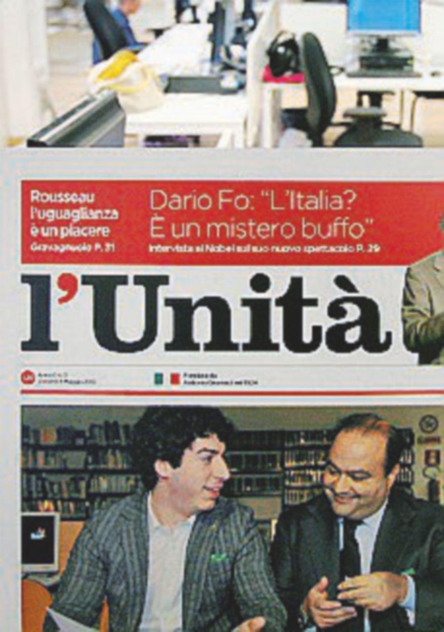 L'Unità chiude oggi, ma secondo Macaluso la salverà Costanzo