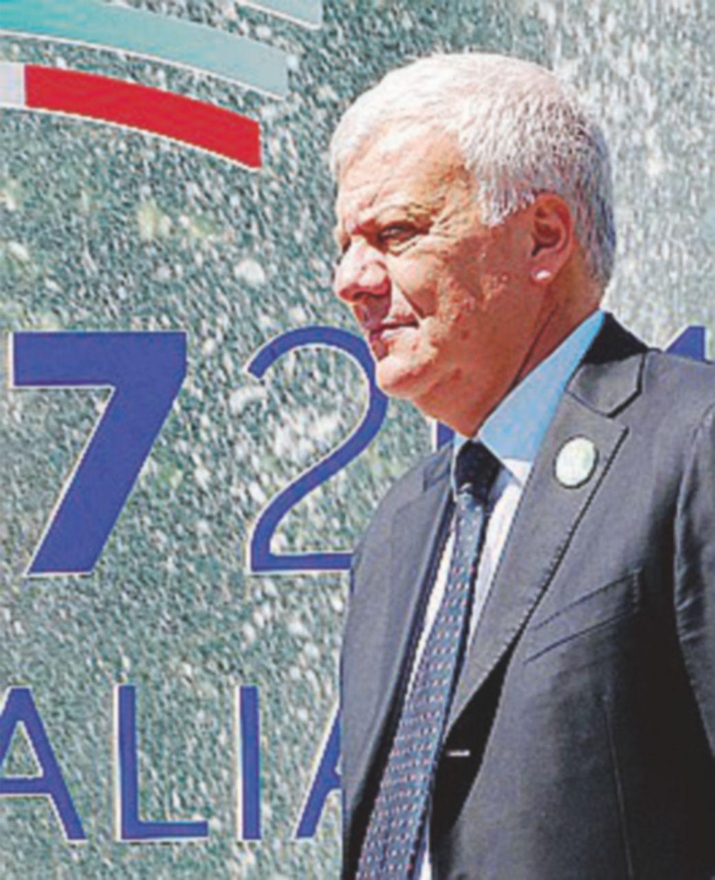 """G7 Ambiente, Galletti:  """"A parte il clima, c'è accordo su tutto"""""""