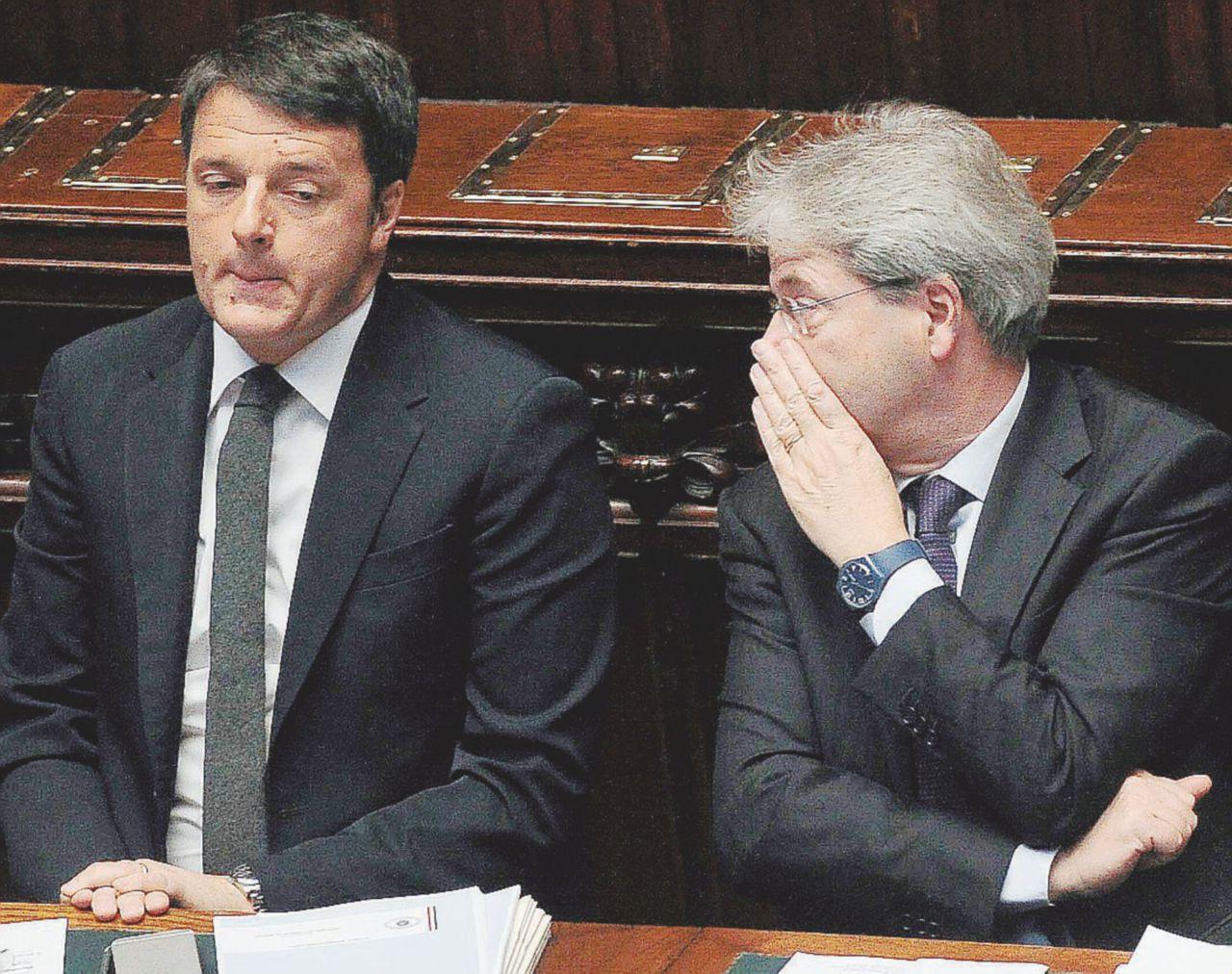 Lite tra Gentiloni e Renzi sulla fiducia al ddl penale