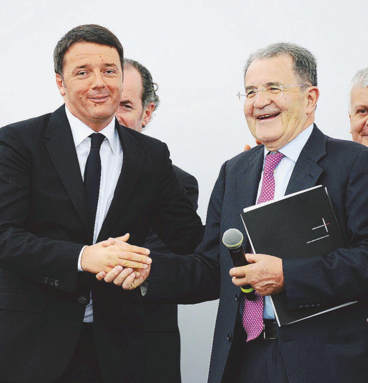 Renzi vede Prodi: lo teme e vuole capire che farà