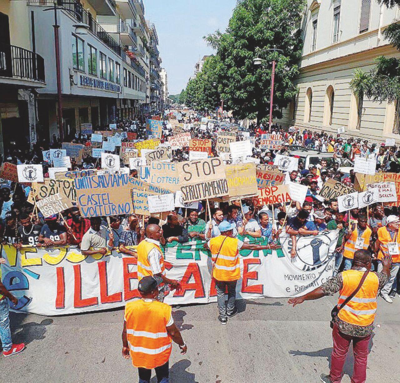Ius soli e decreto Minniti. 5 mila migranti in piazza