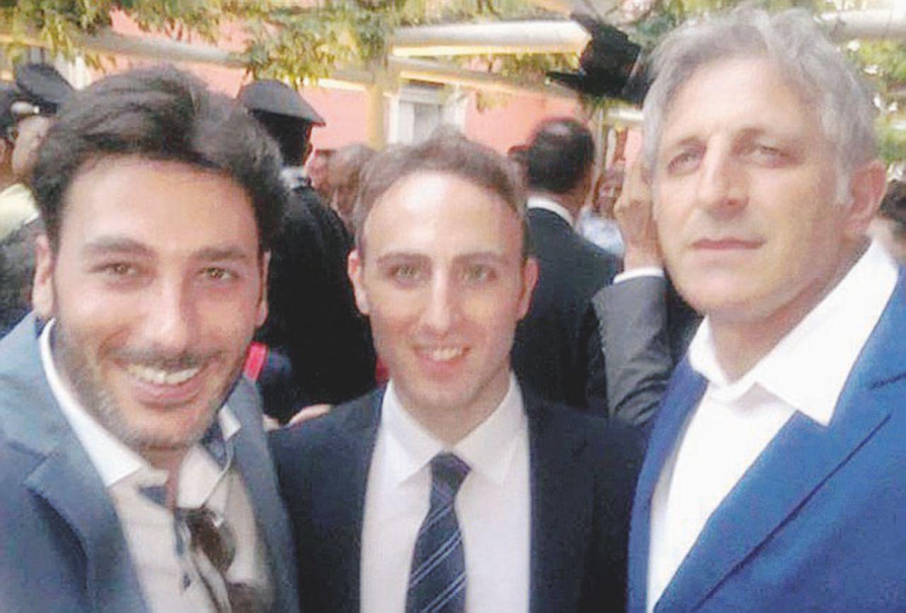 Salerno, De Luca jr. con il figlio del procuratore